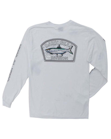 TARPON MOISTURE WICKING LS WHITE