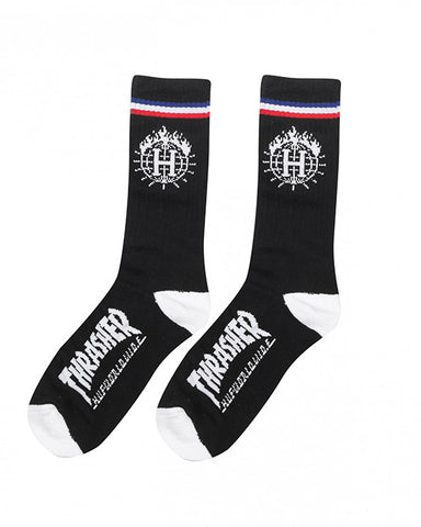 TDS SOCK & BLACK IN A CAN BLACK