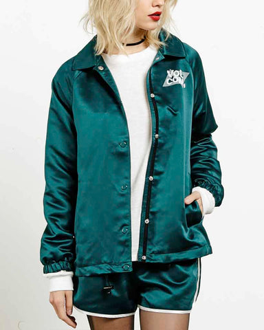 TEAM JACKET MIDNIGHT GREEN