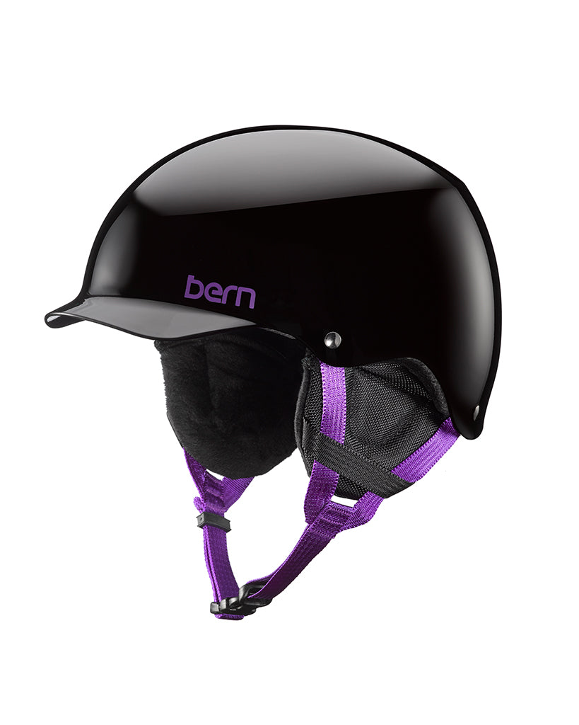 Casque hiver BERN TEAM MUSE GLOSS BLACK