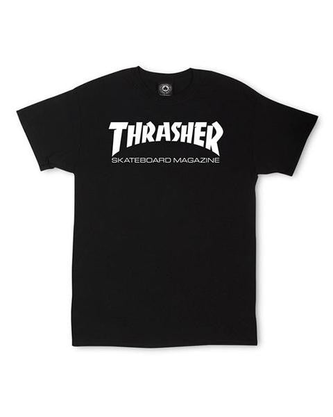 T-shirt THRASHER SKATE MAG BLACK
