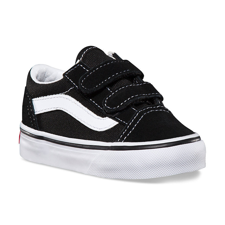 Shoes VANS TODDLER OLD SKOOL V BLACK