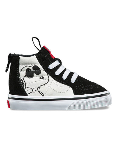 TODDLER SK8-HI ZIP PEANUTS JOE