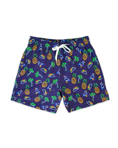 SWIM TRUNK TROPICAL