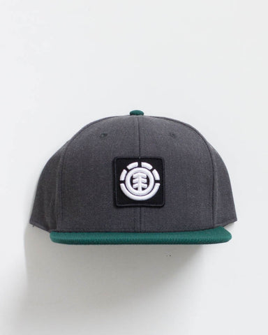 UNITED CAP B BLACK HEATHER