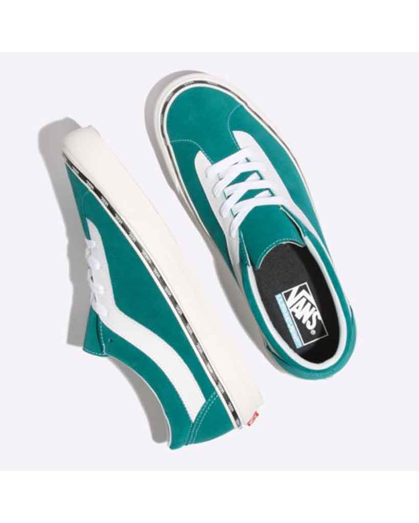 Shoes VANS BOLD NEW ISSUE QUETZAL GREEN-TRUE WHITE