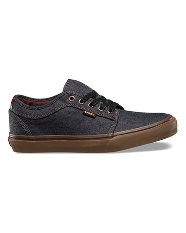 CHUKKA LOW OXFORD BLACK GUM