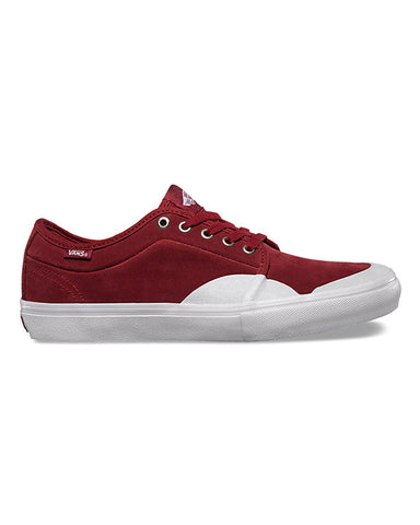 CHUKKA LOW PRO RUBBER RED DAHLIA WHITE