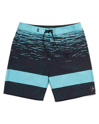 ERA BOARDSHORT 19 AQUARELLE DARK WATER