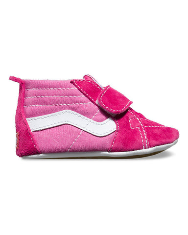 INFANT SK8-HI CRIB PINK/HOT PINK