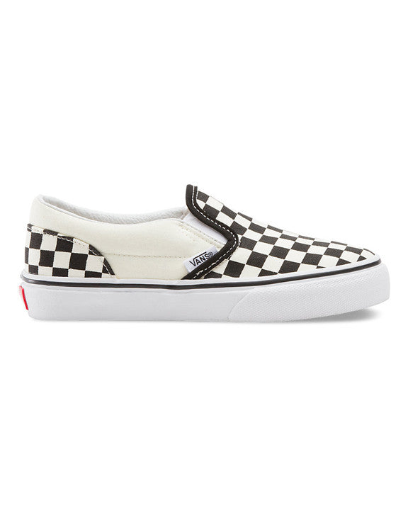 Souliers VANS Y CLASSIC SLIP-ON CHECKERBOARD