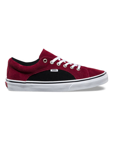 LAMPIN 2-TONE SUEDE PORT ROYAL/BLACK