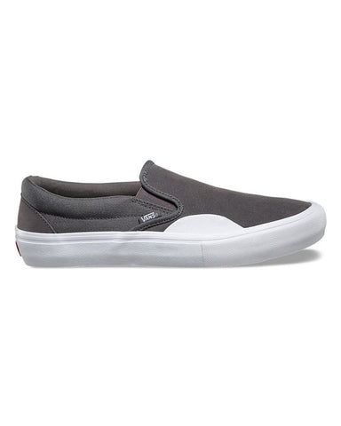 SLIP-ON PRO RUBBER PEWTER/WHITE