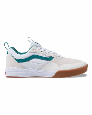 VANS ULTRARANGE PRO 2 MARSHMALLOW-QUETZAL GREEN SKATE SHOES