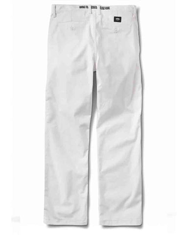 X BAKER AUTHENTIC CHINO PRO WHITE-BAKER