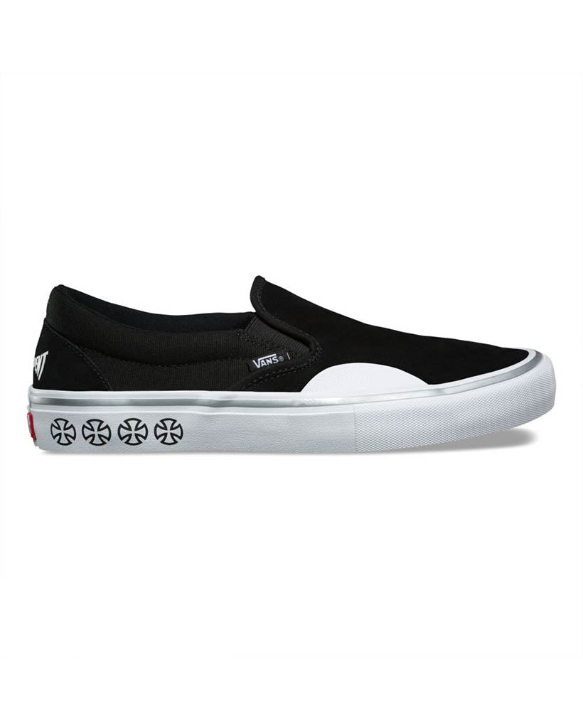 VANS VANS X INDEPENDENT SLIP-ON PRO BLACK – Boutique Adrenaline 4c0eb4ba6