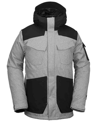 INFERNO INSULATED VCO JACKET HEATHER GRAY