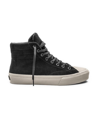 VENICE BLACK BONE SUEDE