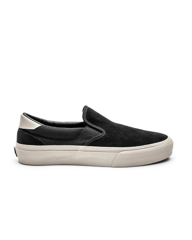 VENTURA BLACK BONE SUEDE