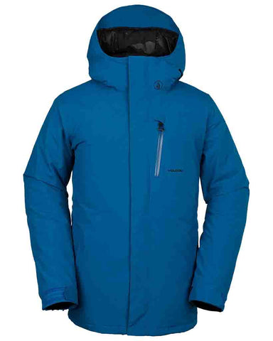 INSULATED GORE-TEX JACKET BLUE