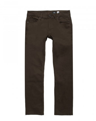 VORTA TWILL SLIM FIT DARK CHOCOLATE