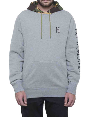 TRAVEL FRENCH TERRY HOODIE ATHLETIC HEATHER