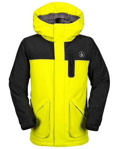 BOYS VS INSULATED JACKET LIME
