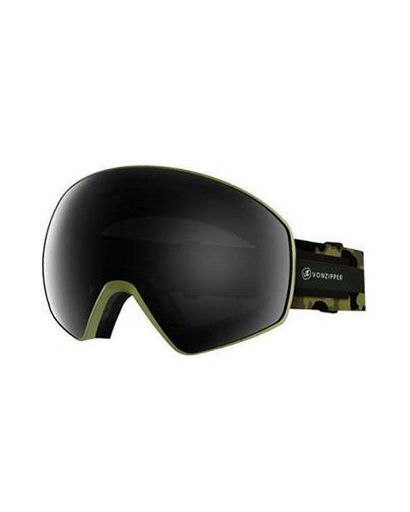 Goggles VON ZIPPER JETPACK CAMERA OLIVE SATIN / BLACKOUT