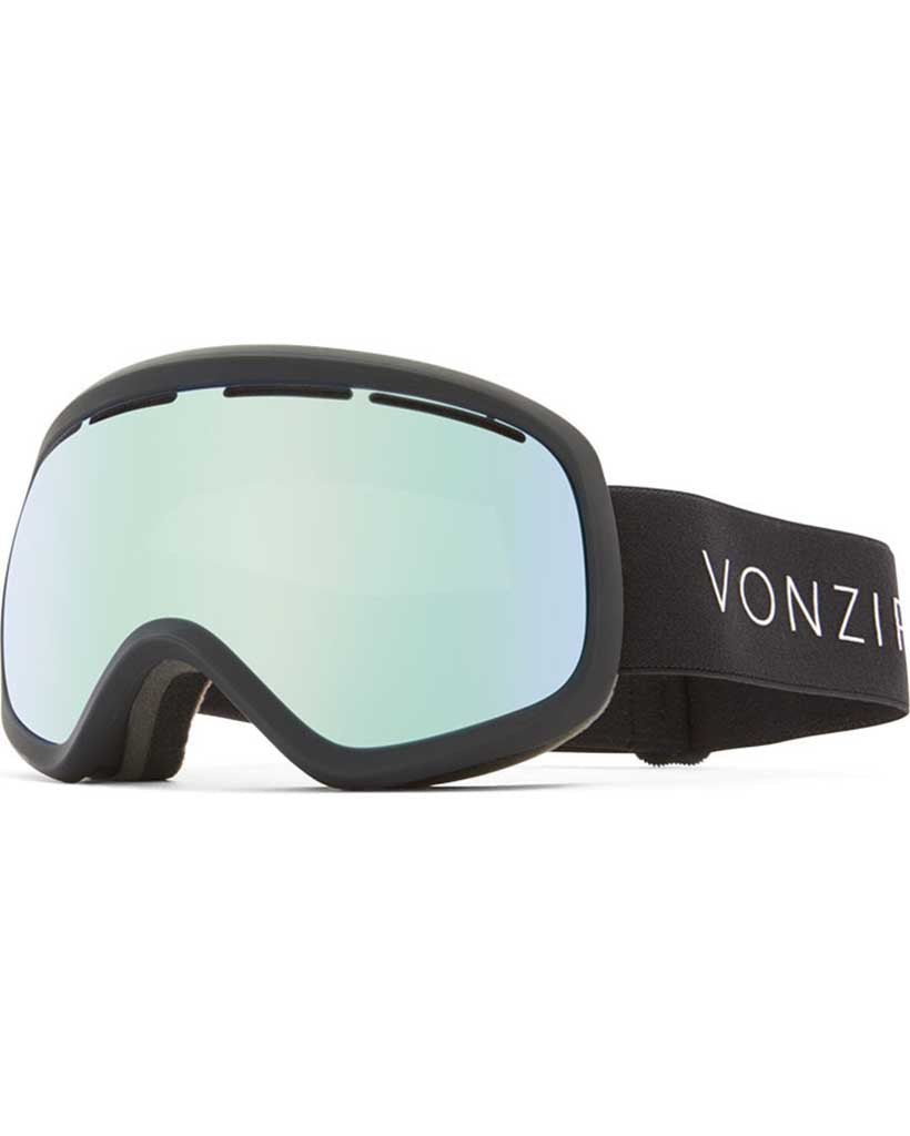 Goggles VON ZIPPER SKYLAB BLACK SATIN / WILDLIFE STELLAR CHROME