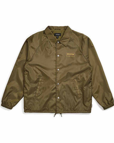 WEDGE COACH JACKET - OLIVE