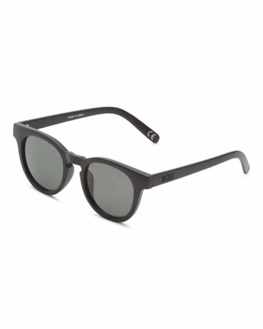 WELLBORN II SUNGLASSES MATTE BLACK-GREEN