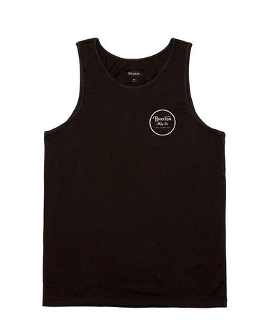 WHEELER TANK WASHED BLACK/WH