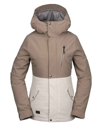 WOMENS ASHLAR INSULATED JACKETS - SAND BROWN
