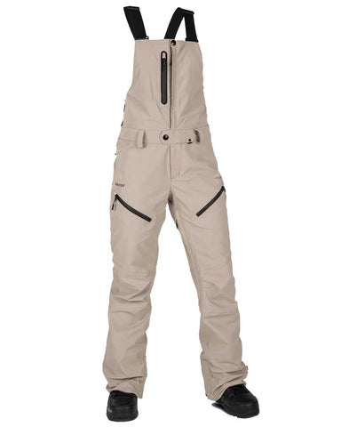 WOMENS ELM GORE-TEX OVERALL BIB - SAND BROWN