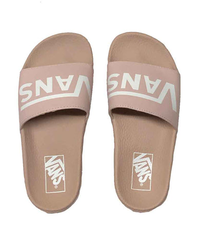 VANS WOMENS SLIDE-ON SEPIA ROSE SANDELES