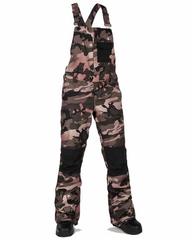 WOMENS SWIFT OVERALL BIB - FADED ARMY