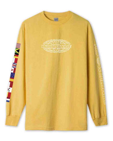 WORLD TOUR LONG SLEEVE T-SHIRT SAUTERNE