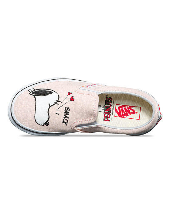 VANS YOUTH CLASSIC SLIP-ON PEANUTS SMACK Shoes