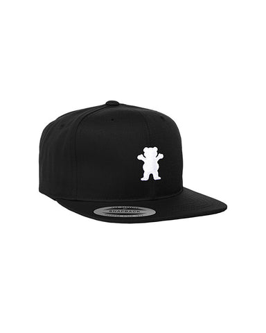 YOUTH SNAPBACK OG BEAR BLACK WHITE