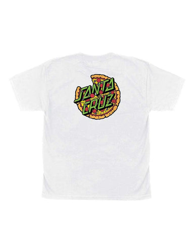 YOUTH TMNT YOUTH PIZZA DOT WHITE