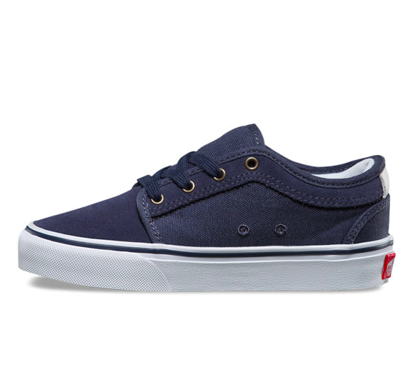 Souliers VANS Y CHUKKA LOW PERSIAN NIGHT/WHITE/RED