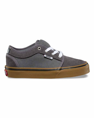Y CHUKKA LOW PEWTER WHITE GUM