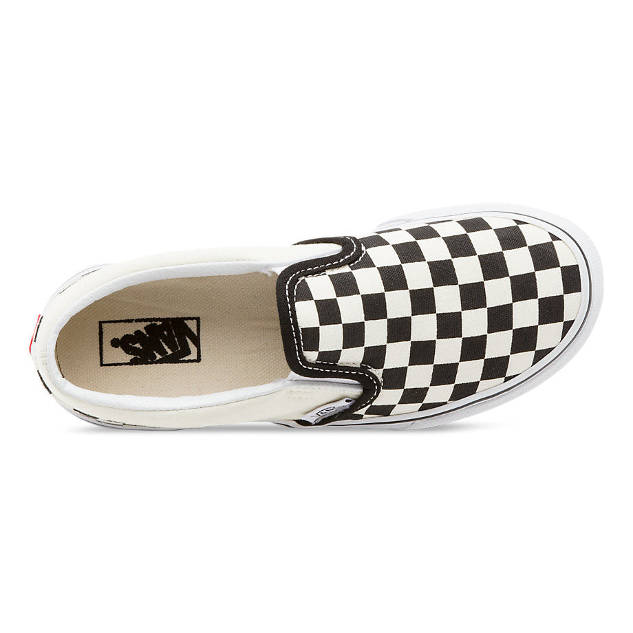 VANS Y CLASSIC Shoes SLIP-ON CHECKERBOARD