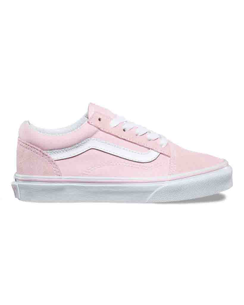 VANS Y OLD SKOOL SWEDEN CANVAS CHALK PINK WHITE