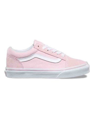 Y OLD SKOOL  SUEDE CANVAS CHALK PINK WHITE