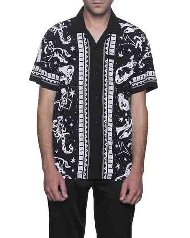 ZODIAC SHORT SLEEVE BLACK