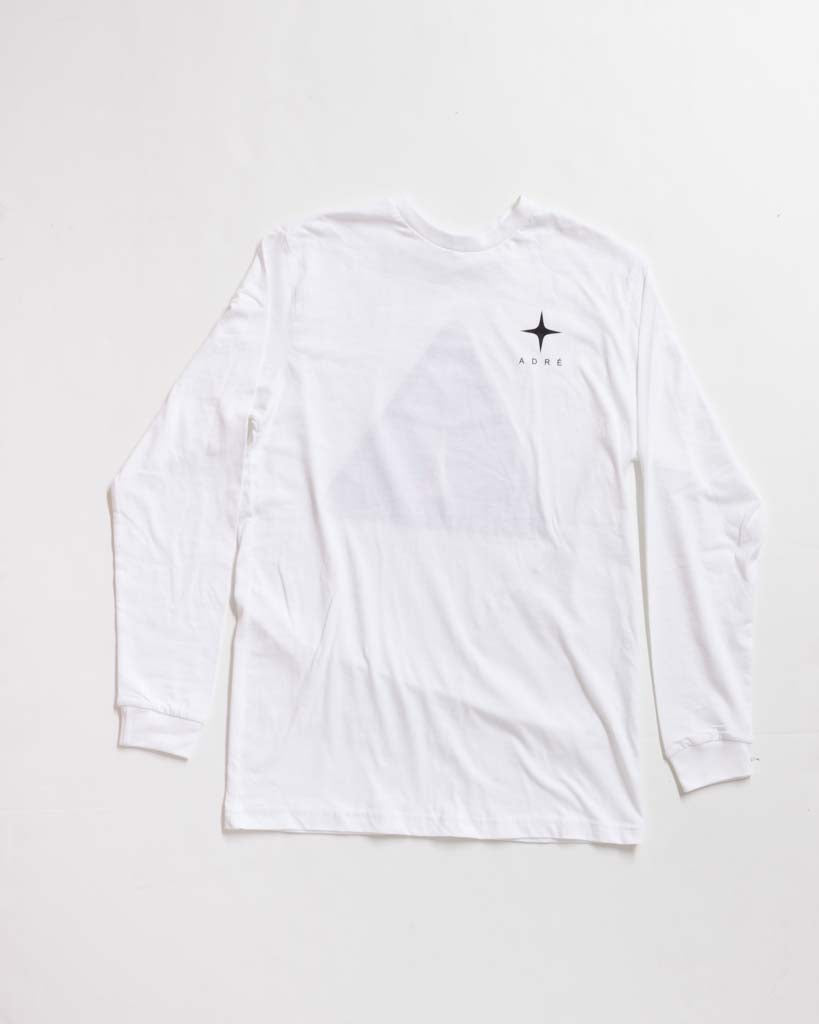 Long sleeve t-shirt ADRENALINE ADRE WL / S WHITE