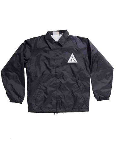 ADRE LAMBDA COACH JACKET BLACK