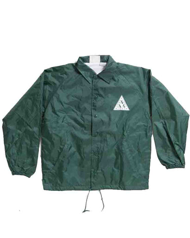 ADRE LAMBDA COACH JACKET GREEN