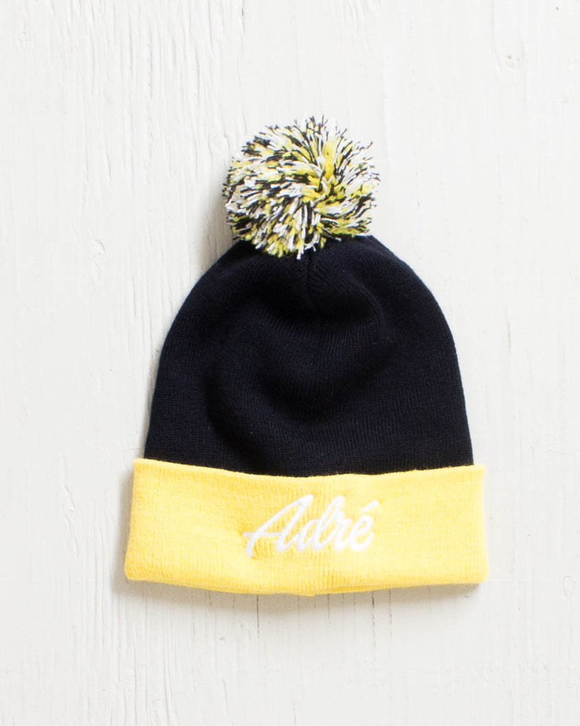 Tuque ADRENALINE ADRE POM POM YELLOW